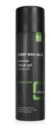Every Man Jack Natural Hemp Shave Gel