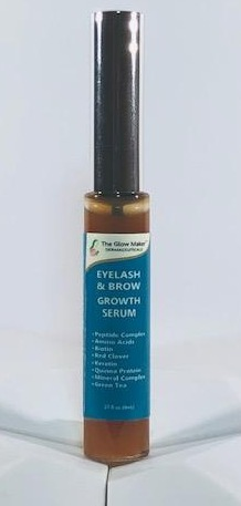 The Glow Maker Eyelash And Brow Growth Peptide Complex Serum