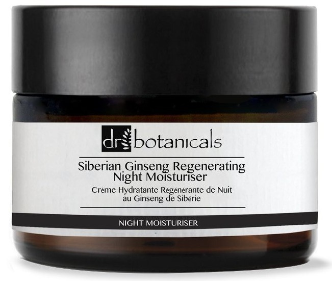 Dr Botanicals Siberian Ginseng Regeneration Night Moisturiser