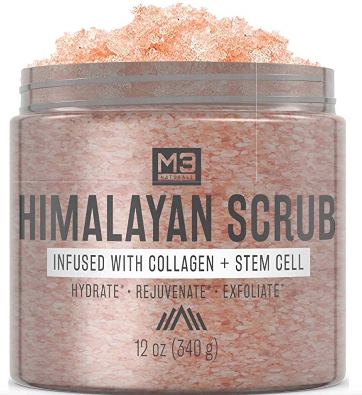 M3 Naturals Himalayan Salt Scrub