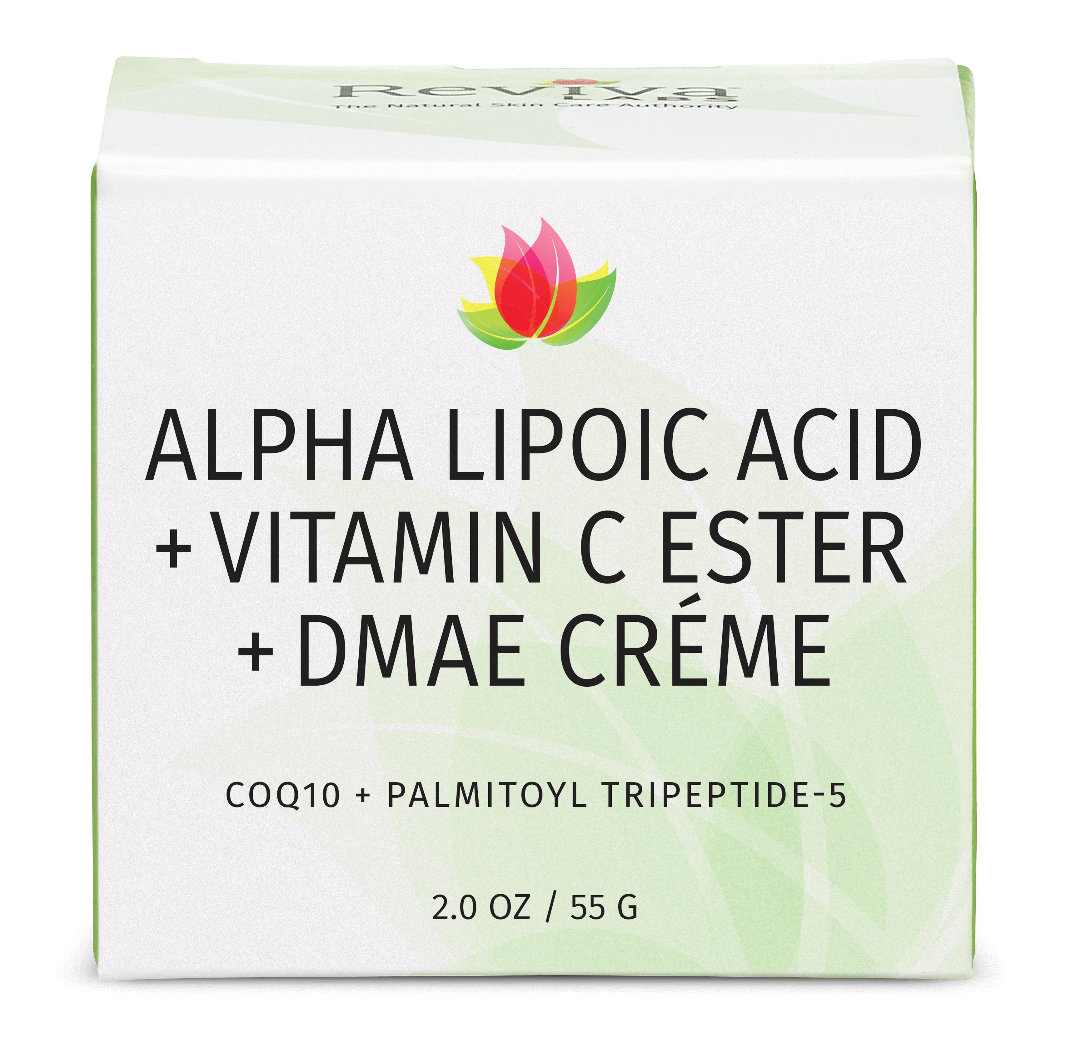 Reviva Labs Alpha Lipoic Acid Vitamin C Ester Dmae Créme