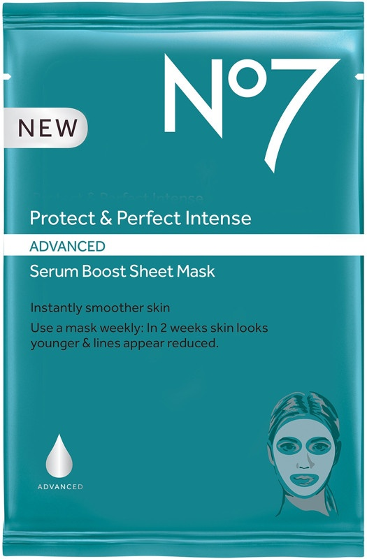 No7 Protect And Perfect Intense Advanced Serum Boost Sheet Mask