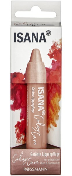 Isana Tinted Lip Care Color 2 Care Nude