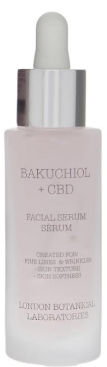 London Botanical Laboratories Bakuchiol + CBD Bio-Retinol Ultimate 8-Hour Renew Serum