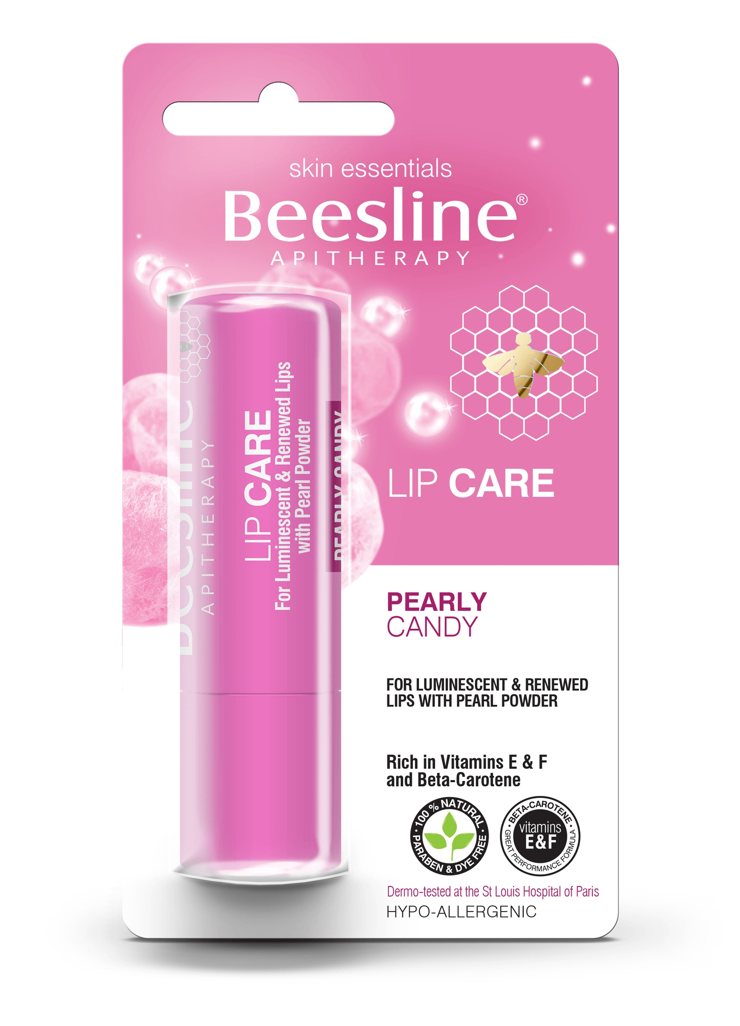 Beesline Apitherapy Lip Care Pearly Candy SPF 10
