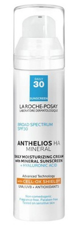 La Roche-Posay Anthelios Ha Mineral Daily Moisturizing Face Sunscreen SPF 30 With Hyaluronic Acid