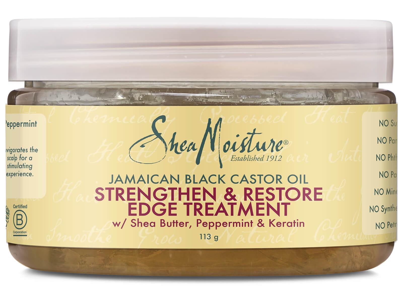 Shea Moisture Jamaican Black Castor Oil Strengthen, Grow & Repair Edge Treatment