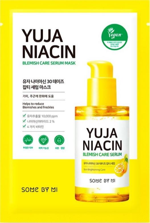 Some By Mi Yuja Niacin 30 Days Blemish Care Serum Mask