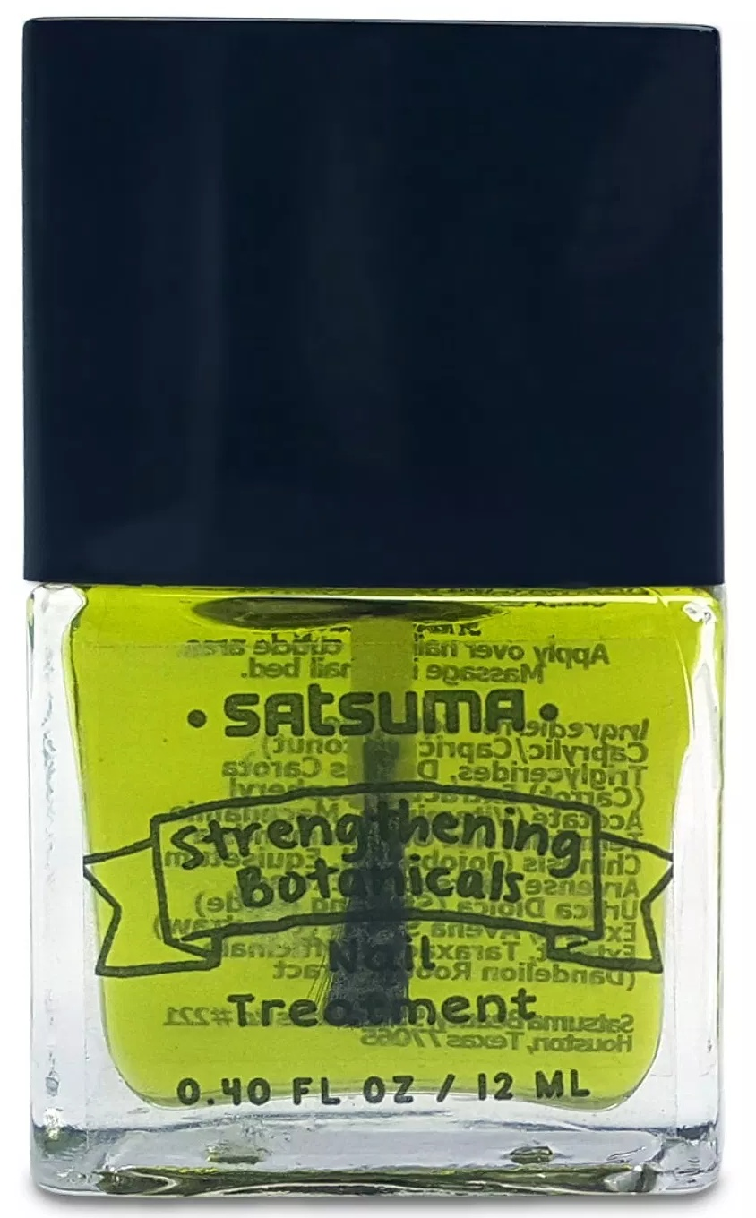 Satsuma Beauty Strengthening Botanicals Nail Treatment Oil