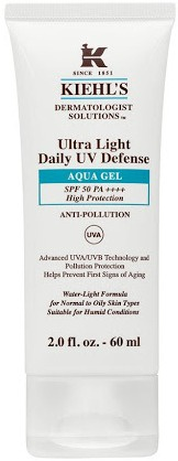 Kiehl's Ultra Light Daily Uv Defense Aqua Gel Spf 50 Pa++++