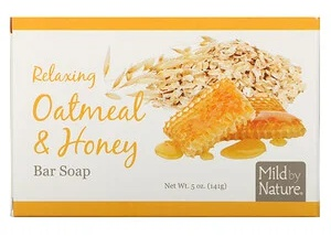 Mild By Nature Relaxing Bar Soap, Oatmeal & Honey