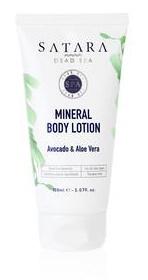 Satara Dead Sea Mineral Bodylotion Avocado & Aloe Vera