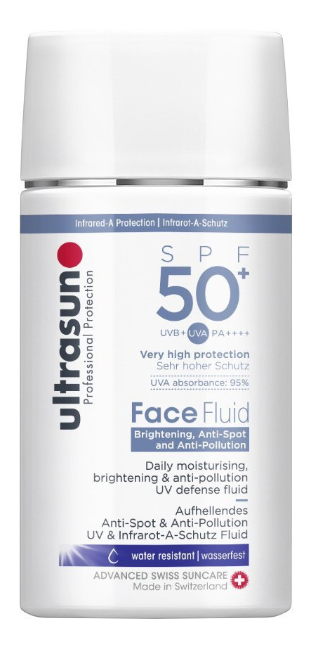 Brightening, Anti-Spot And Anti-Pollution Face Fluid Spf50+