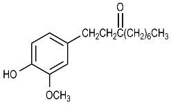 Hydroxymethoxyphenyl Decanone