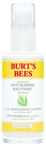 Burt's Bees Anti-Blemish Daily Moisturizing Lotion