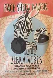 Maxbrands Zebra Vibes - Face Sheet Mask
