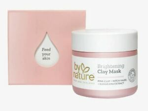 By Nature Brightening Clay Mask With Pink Clay + Witch Hazel + Kawakawa Extract
