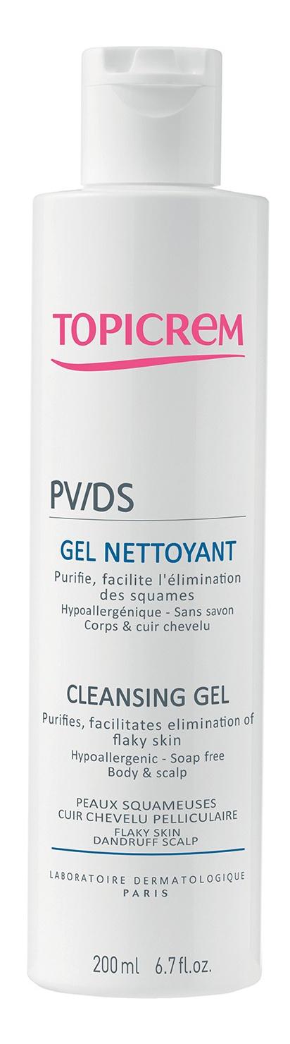 Topicrem Pv Cleansing Gel Body & Hair Scalp