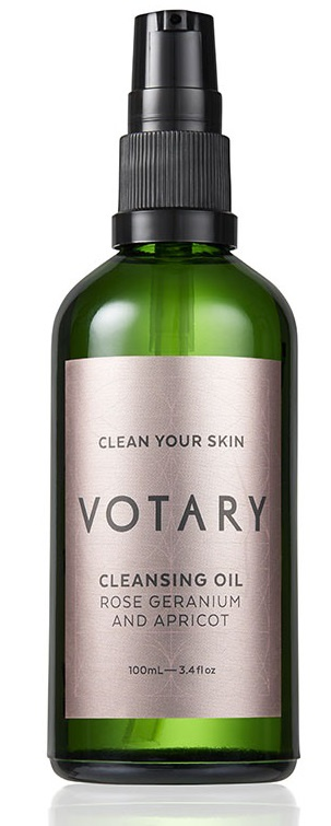 Votary Cleansing Oil – Rose Geranium And Apricot