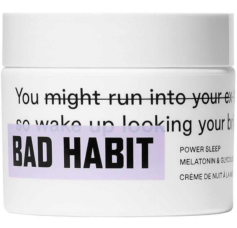 Bad Habit Power Sleep Melatonin & Glycolic Night Cream
