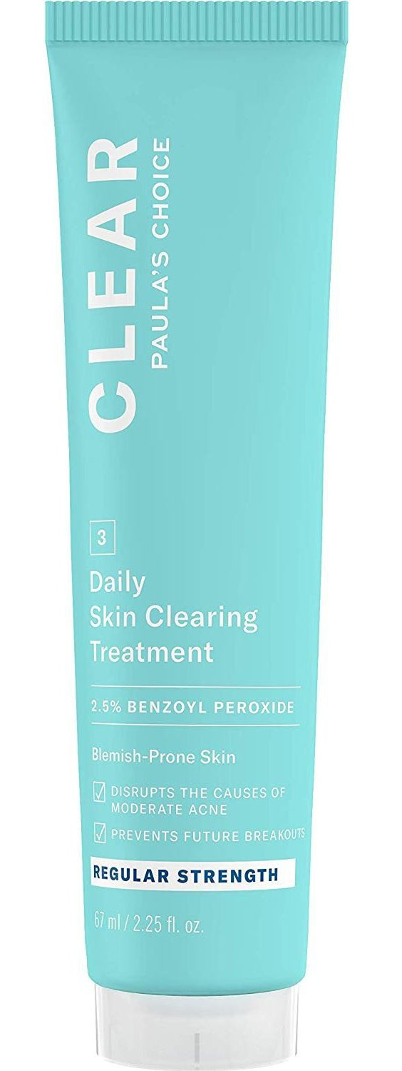 Paula's Choice Clear Regular Strength Daily Skin Clearing Treatment With 2.5% Benzoyl Peroxide