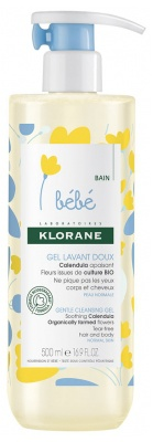 Klorane Bebe Gentle Cleansing Gel
