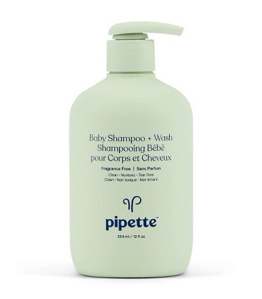 Pipette Baby Shampoo/Wash Fragrance Free