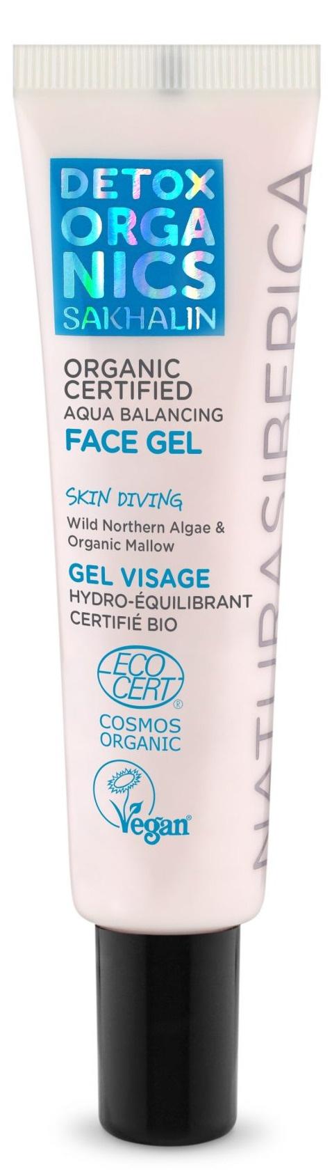 Natura Siberica Sakhalin Organic Certified Aqua Balancing Face Gel