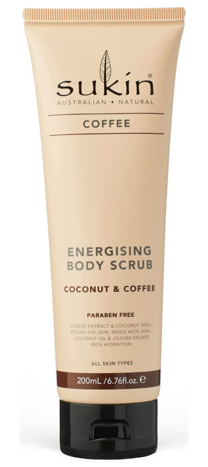 Sukin Energising Body Scrub (Coffee & Coconut)