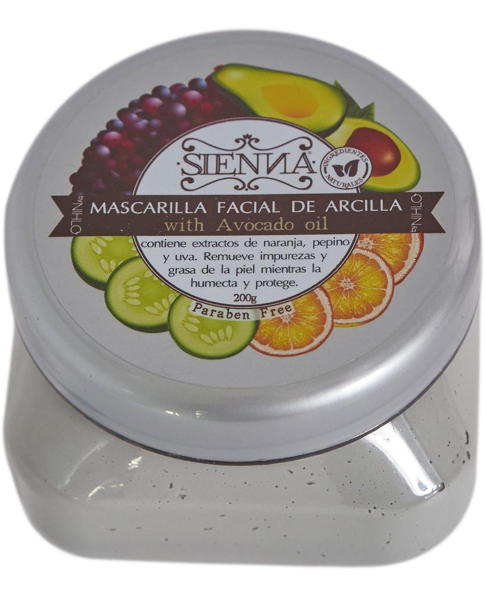 SIENNA Mascarilla De Arcilla