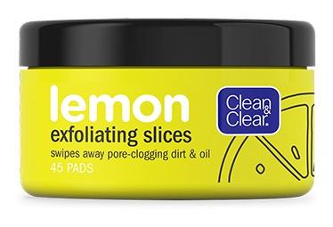 Clean & Clear Lemon Exfoliating Slices