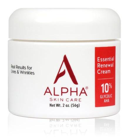Alpha Skin Care Essential Renewal Cream With 10% Aha