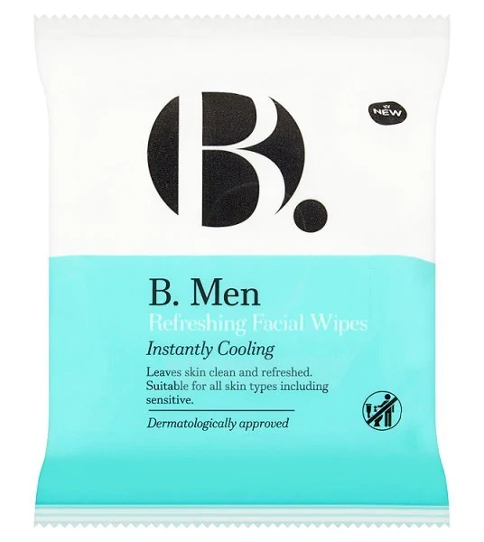 B. Men Refreshing Facial Wipes