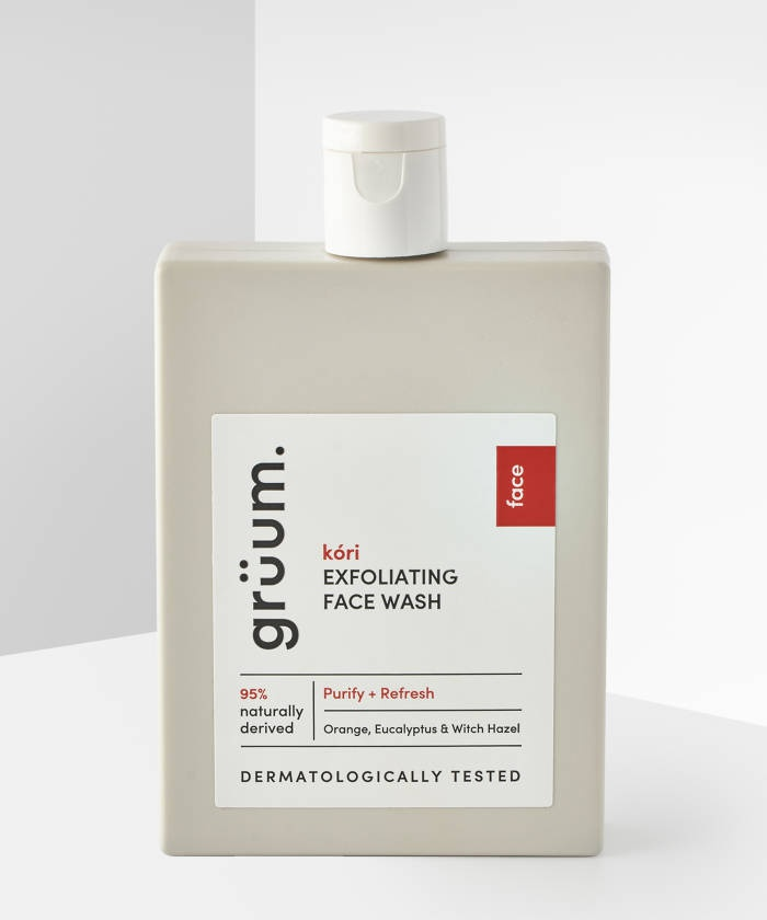 Grüum Kóri Exfoliating Face Wash