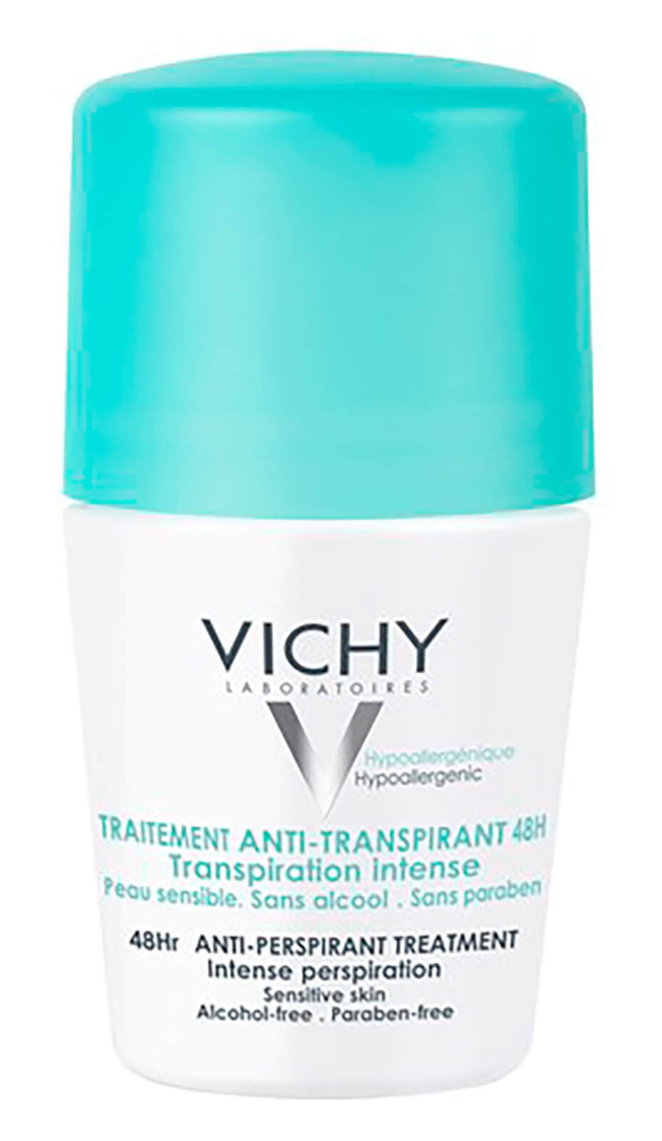 Vichy Deodorant 48H Anti-Perspirant Treatment - Roll-On