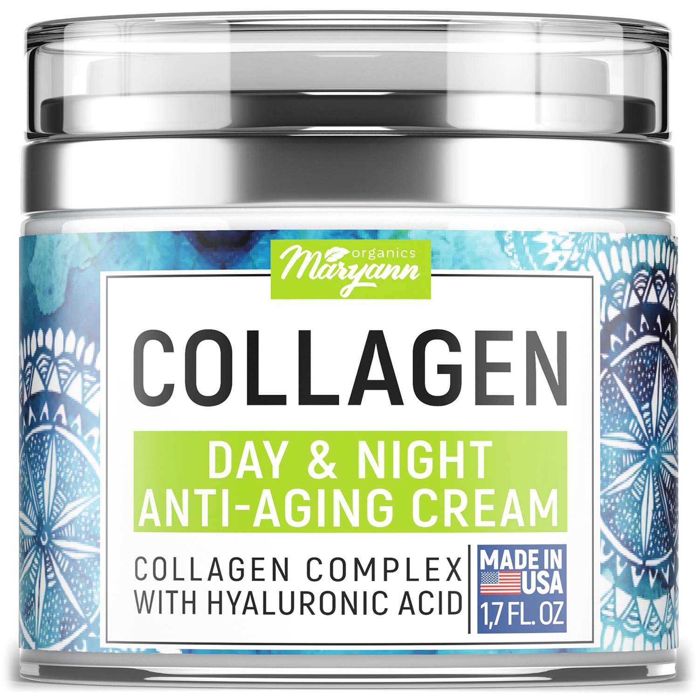 MARYANN Organics Collagen Day And Night Anti-Aging Cream