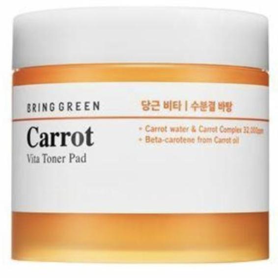 Bring Green Carrot Vita Toner Pad