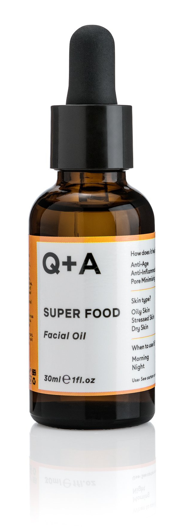 Q+A Super Food Facial Oil