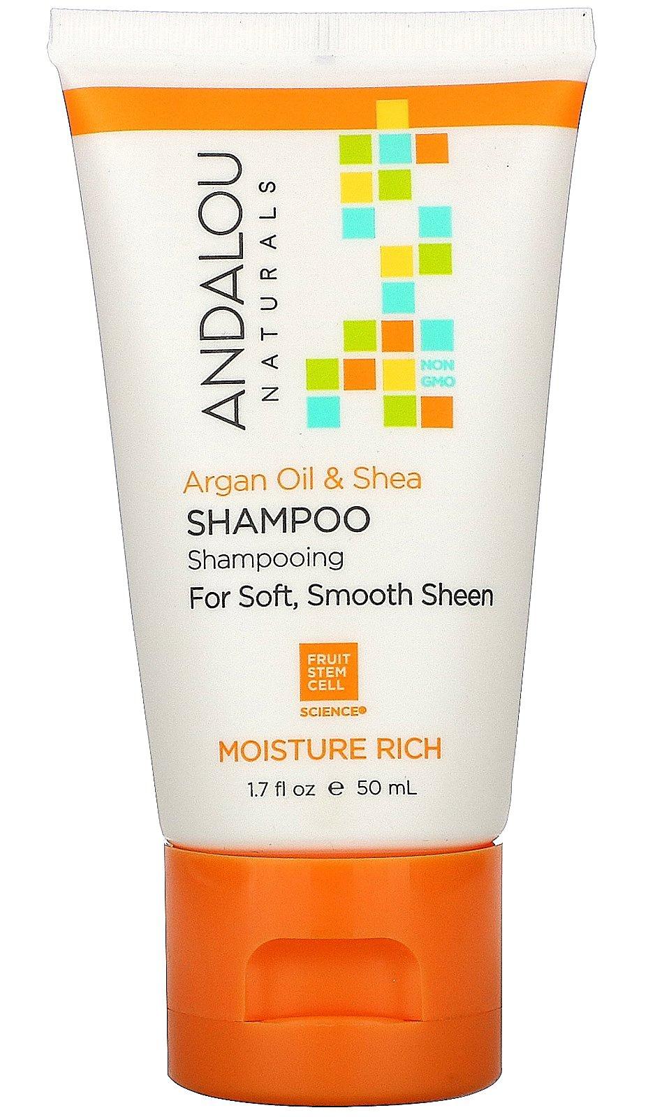 Andalou Naturals Shampoo, Argan Oil & Shea