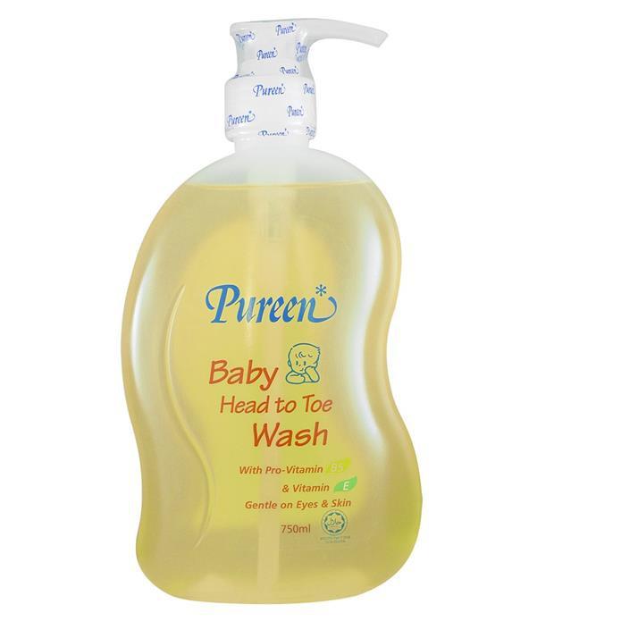 Pureen Baby Head To Toe Wash With Pro-Vitamin B5 & Vitamin E