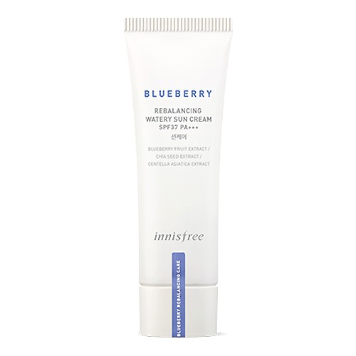 innisfree Blueberry Rebalancing Watery Sun Cream Spf37/Pa+++