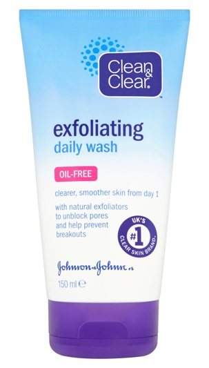 Clean And Clear Exfoliating Wash