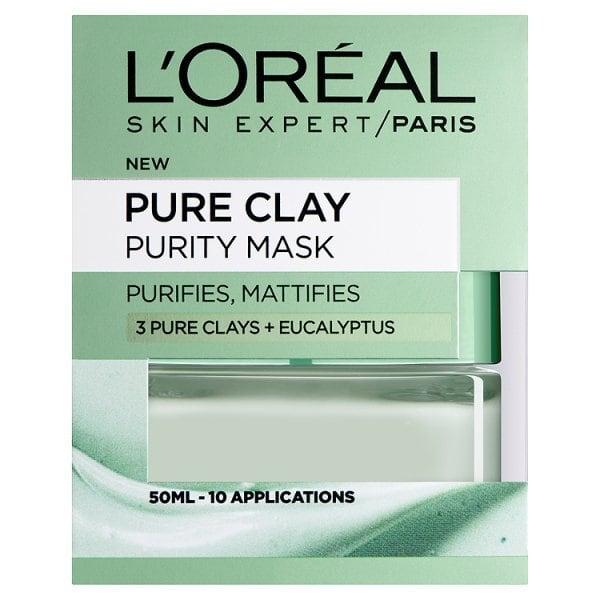 L'Oreal Paris Pure Clay | Purity Mask | Eucalyptus
