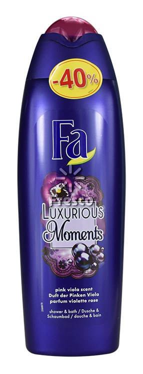 Fa Luxorious Moments Pink Viola Scent Caring Shower Cream