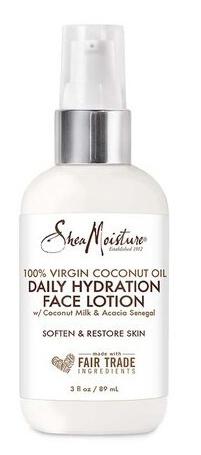 Shea Moisture 100% Virgin Coconut Oil Daily Hydration Face Lotion
