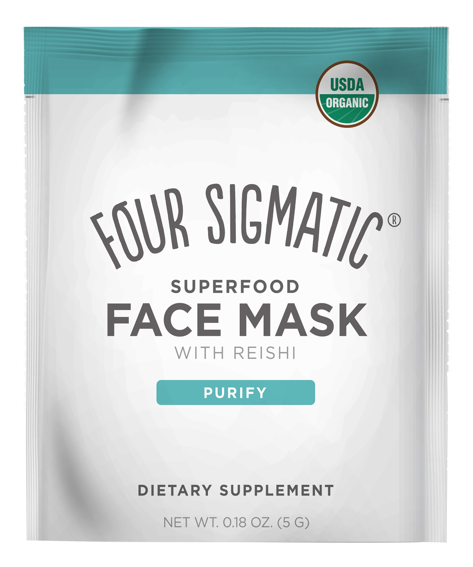 Four Sigmatic Super Food Face Masks With Reishi