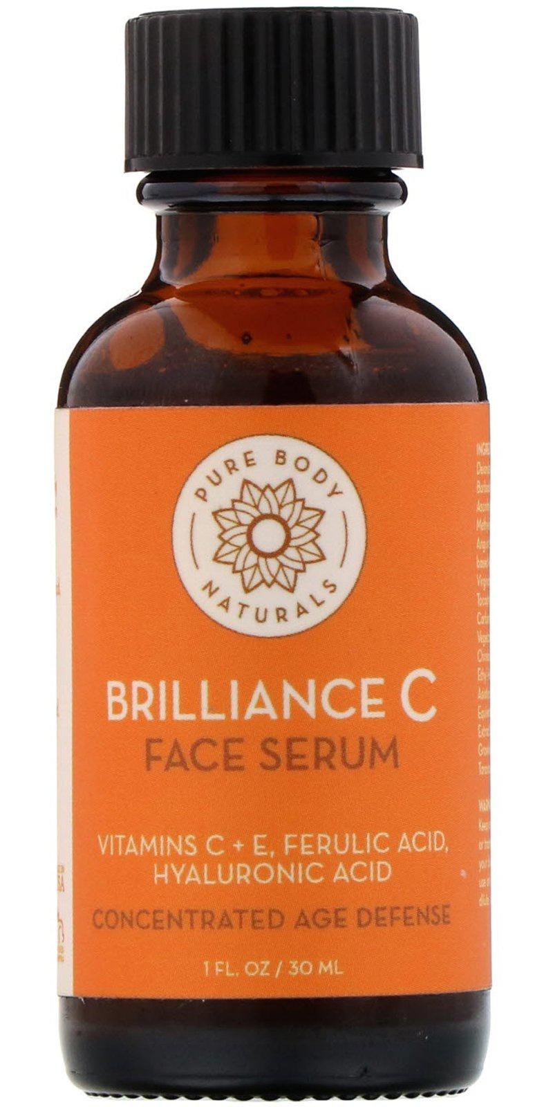 Pure Body Naturals Brilliance C Face Serum
