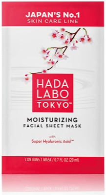 Hada Labo Tokyo Moisturising Facial Sheet Mask with Super Hyaluronic Acid