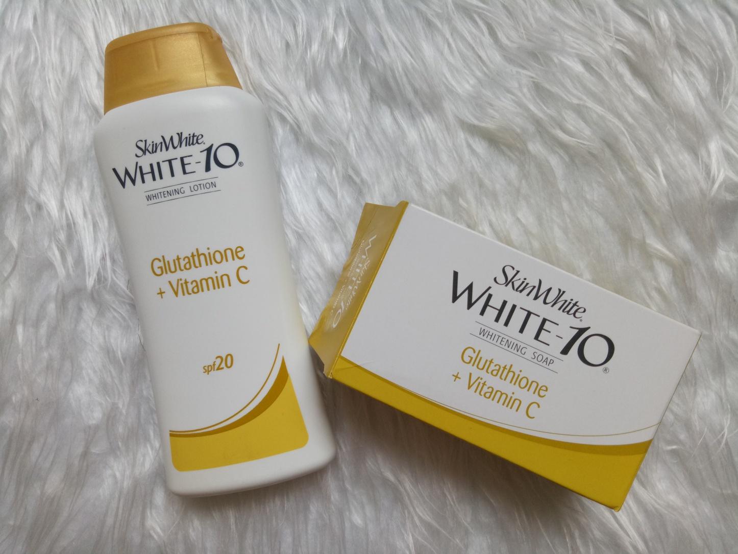 SkinWhite White-10 Whitening Soap