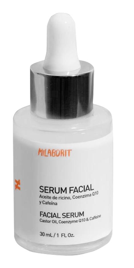 MiLaborit Sérum Facial, Aceite De Ricino, Coenzima Q10 Y Cafeína